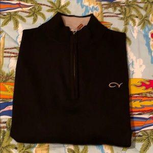 Peter Millar Cordevalle Golf Half Zip Merino Wool